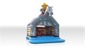 Obrazek Zamek Kowboj z dachem i z figurą 10,5 x 7,2 m