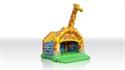 Obrazek Zamek Żyrafa z dachem i z figurą 7,2 x 6,2 m